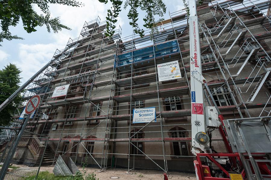 Umbaumaßnahmen Stand 06/07-2017 ©Peter Truhlar